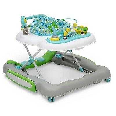 Delta Children 4-in-1 Discover  Play Musical Walker - Bubbly