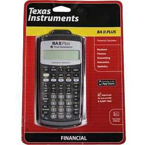 Texas Instruments BA II Calculator