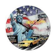 Wanduhr New York