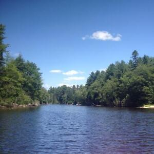 cottage for sale- waterfront on the muskoka river