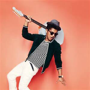 Don't get locked out of heaven-2nd ROW lower bowl BRUNO MARS tix