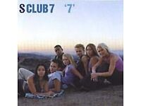 CD albums and singles by S CLUB 7