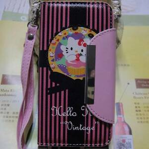 Hello Kitty Wallet Case protector for Iphone 5  15.00$