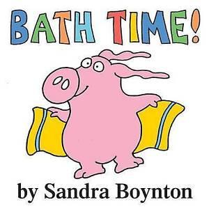 Bath Time, Sandra Boynton
