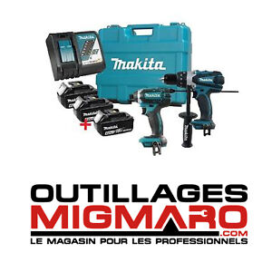 MAKITA DLX2005M COMBO KIT 2PC 18V LITHIUM-ION NEUF/NEW! (