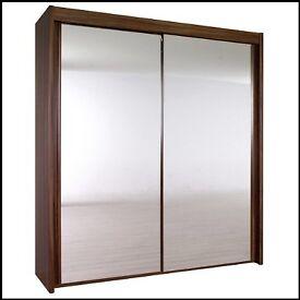 Rauch Imperial 2 door sliding mirrored wardrobe