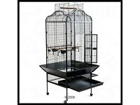 Metal parrpt cage excellant condition all accessories has been well looked after