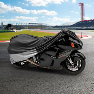 Superior Travel Dust Motorcycle Bike Cover Covers : Fits Up To L