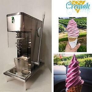 Swirl freeze fruit ice cream blending machine with 3pcs cones - FREE SHIPPING
