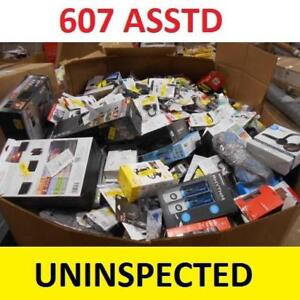 607 ASSTD CONSUMER ELECTRONICS - 133685708 - LOT MANIFEST UNINSPECTED
