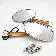 Harley Turn Signal Mirrors