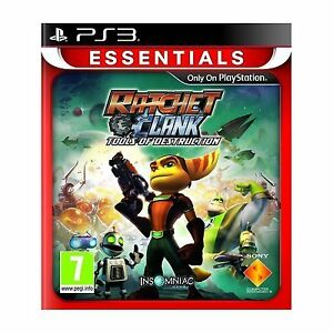 Ratchet & Clank: Tools of Destruction ESSENTIALS ( SONY PS3 ) NEW AND SEALED