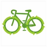Want to reduce household waste? Bicycle operated compost pickup