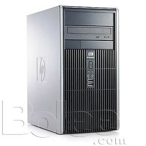 HP Compaq dc5800 Desktop with 19 in flat screen