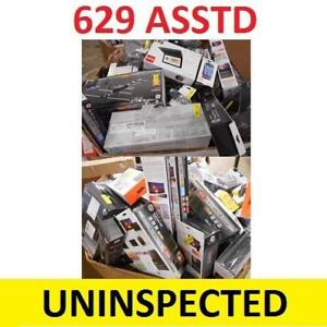 629 ASSTD CONSUMER ELECTRONICS - 133773886 - LOT MANIFEST UNINSPECTED