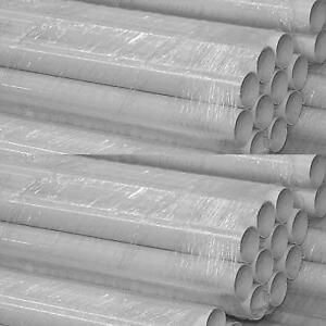 Pipe 5' Pieces White Sold Per Foot In 100' Bundle