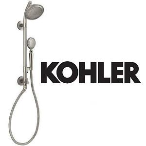 NEW KOHLER HAND SHOWER KIT - 123089080 - ARTIFACTS 2.0GPM VABRANT BRUSHED NICKEL