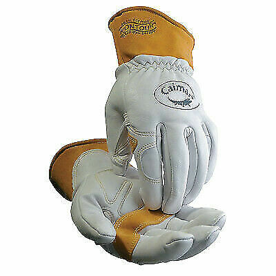 Sheep Grain Unlined Palm Wool Insulated Back Tigmigmulti-task Welding Gloves