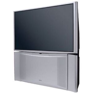 51in Hitachi Rear Projection TV! Works well with HDMI!