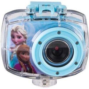 Disney Frozen HD Action Camcorder 720 5.1MP Bike and Helmet Moun