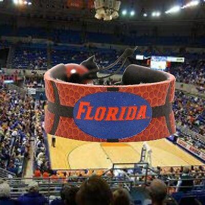 Brand New NWT NCAA Florida Gators Basketball GameWear Bracelet Basketball Gamewear Bracelet