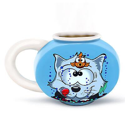 Something's Fishy Fishbowl Mug Funny Novelty Mug Drink