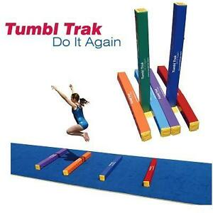 6 NEW 4' TUMBL TRAK FUN STICKS PACK OF 6 - MULTICOLOUR - GYMNASTICS - DANCE 103387037