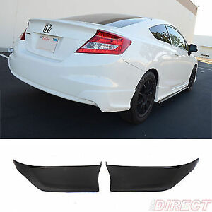 rear skirt  bumper civic 2012-13