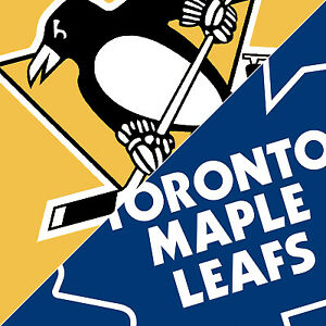 Penguins vs Maple Leafs - HARD Tickets - Oct 18th, 2nd Row!