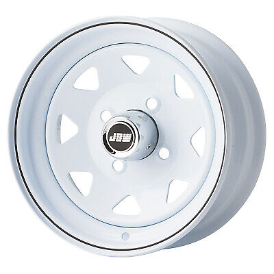 "5""x12"" JBW W8 ICE WHITE STEEL WHEELS CLASSIC MINI (SINGLE WHEEL)"