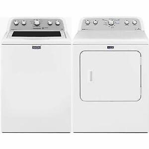 Combo Laveuse/Sécheuse blanches, Maytag, Showroom