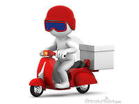 Delivery Motorbike riders needed earn up to £1500/MONTH - Evenings / Weekends only