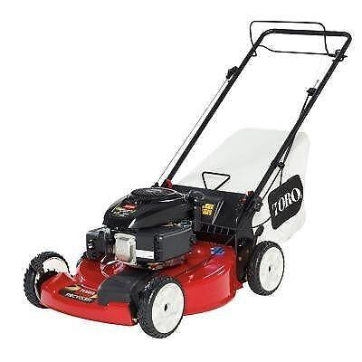 how to start a toro self propelled lawn mower