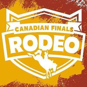 **2-6 Canadian Finals Rodeo CFR Tickets for Every Event**