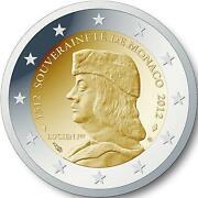 2 Euro Monaco 2012