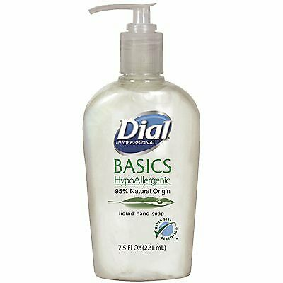 Dial Basics Liquid Hand Soap (Green Seal Certified) 7.5 oz
