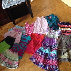 Vêtements pour fille(4,5,6)