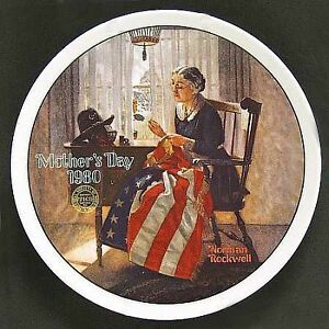 Porcelain collector plates by Norman Rockwell - limited edition