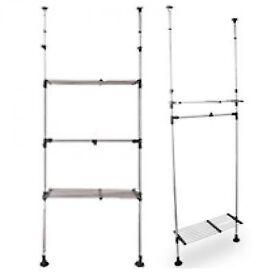IKEA Tvaga adjustable clothes rack