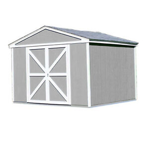 SHED =>  10'x10' Somerset Wood Shed in Nisku (MSRP $2859.99) Strathcona County Edmonton Area image 1