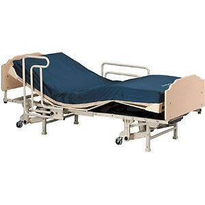 Invarcare Hospital Bed with both Air Mattres and Mattress