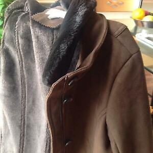 Suede Winter jacket - never used