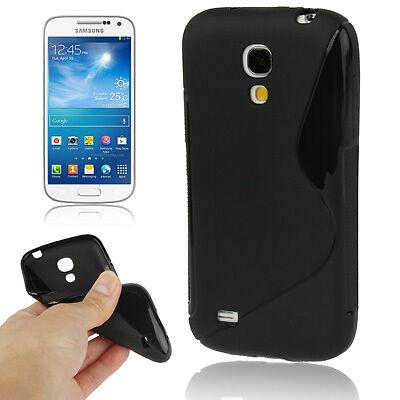 Samsung i9190 i9195 Galaxy S4 Mini - Housse de protection silicone souple S NOIR