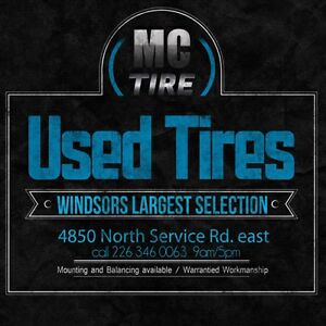 New & Used Tires -- Discount brands and Prices Windsor Region Ontario image 1