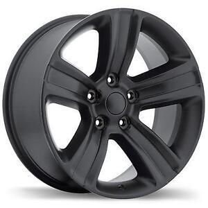 """Roues Hiver 17"""" Dodge Ram 1500 Roue Mag Rim Noir 17 Matte Black"""