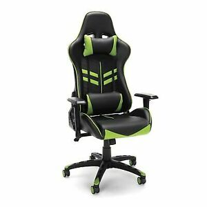 Phenomenal Essentials By Ofm Ess 6065 Racing Style Gaming Chair Green Uwap Interior Chair Design Uwaporg