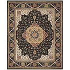 Black Asian 8' x 10' Size Area Rugs