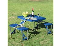 Folding camping/picnic table as new condition
