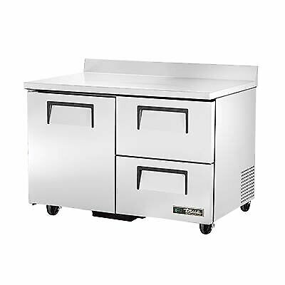 True Twt-48d-2-hc 48 Work Top Refrigerated Counter
