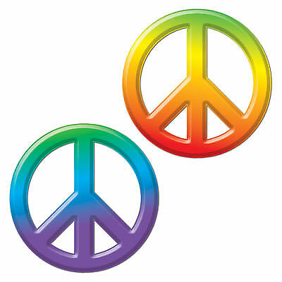 Plastic Peace Sign (Peace Decorations)